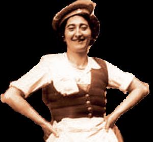 Mamie-Paule-sépia